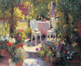 Garden Lunch Prints by Edward Noott