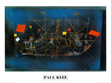 Abenteur - Schiff Kunstdrucke von Paul Klee