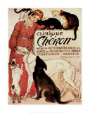 Clinique Cheron, c.1905 Prints by Th&#233;ophile Alexandre Steinlen