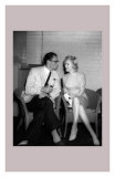 Marilyn Monroe and Arthur Miller Print