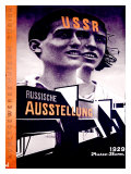 Russiche Ausstellung Giclee Print by El Lissitzky