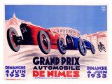 Grand Prix de Nimes Giclee Print by George Yrrab