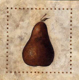 Crackled Pear Art by Donna Atkins
