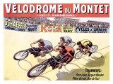 Velodrome du Montet Giclee Print by Marcellin Auzolle