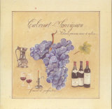 Cabernet Sauvignon Prints by Laurence David