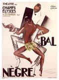 Bal Negre Giclee Print