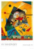 Harmonia tranquila Pôsteres por Wassily Kandinsky