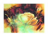 La Vie en Rose I Prints by Betty Jansma