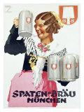 スパテン・ビール ジクレープリント : ルートヴィッヒ・ホールヴァイン
