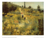 A Path Through the Long Grass Art by Pierre-Auguste Renoir