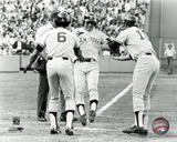 Bucky Dent - 1978 Playoff Home Run Photo