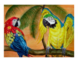 Tropical Paradise Giclee Print by Marlene Barrett