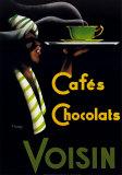 Cafés y chocolates Pósters por Noel Saunier
