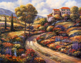 Tuscany Vistas II Prints by John Zaccheo