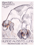 Internationale Hunde-Ausstellung Giclee Print