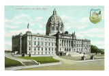 St. Paul, State Capitol, Minnesota Art Print