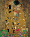 Le Baiser, vers 1907 Art par Gustav Klimt
