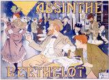 Absinthe Berthelot Giclée-trykk av  Thiriet