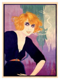 Mistinguett Giclee Print by Areel 