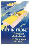 Out in Front Poster