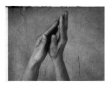 Temple Hands Photographic Print by Elena Ray