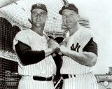 Mickey Mantle y Roger Maris Fotografa