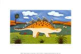 Steggy lo stegosauro Arte di Sophie Harding