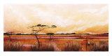 Bhundu Landscape IV Posters by Emilie Gerard