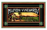 Mission Vineyard Giclee Print
