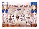 Bros. Marx Strongman - Giclee Baskı