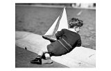 Boy with Sail Boat Giclee Print