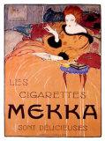 Cigarettes Mekka Giclee Print by Charles Loupot