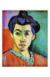 Madame Matisse Giclée-trykk av Henri Matisse