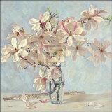Magnolias Print by Valeri Chuikov