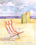 Sur la Plage Posters by Paul Brent