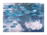 Waterlilies, c.1917 Posters by Claude Monet