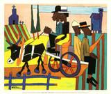 Going to Church Plakater av William H. Johnson