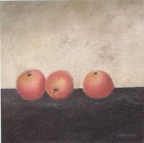 Red Apples Poster von Anouska Vaskebova