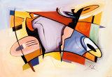 Alfred Gockel - Oslava (Celebration) Obrazy