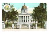 State Capitol Building, Montpelier, Vermont Art Print