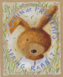 Lapin de Printemps Prints by Joëlle Wolff