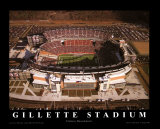 Gillette Stadium - Inaugural Season Prints