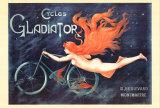 Cycles Gladiator アートポスター : ジョルジュ・マシアス
