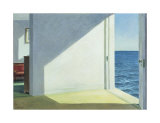 Pokoje nad morzem, 1951 (Rooms By the Sea, 1951) Plakaty autor Edward Hopper