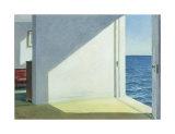 Edward Hopper - Denize Bakan Odalar (Rooms By the Sea, 1951) - Poster
