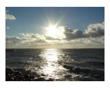 Sun Piercing Through the Clouds Photographic Print by Miska Slock
