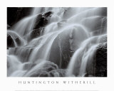 Waterfall, Yosemite Print by Huntington Witherill