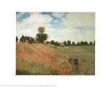 Les Coquelicots Prints by Claude Monet