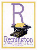 Remington Typewriter Giclee Print