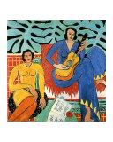Musique Reproduction procédé giclée par Henri Matisse